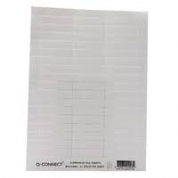 Q-Connect Suspension File Label Insert White KF21003 Pack of 50